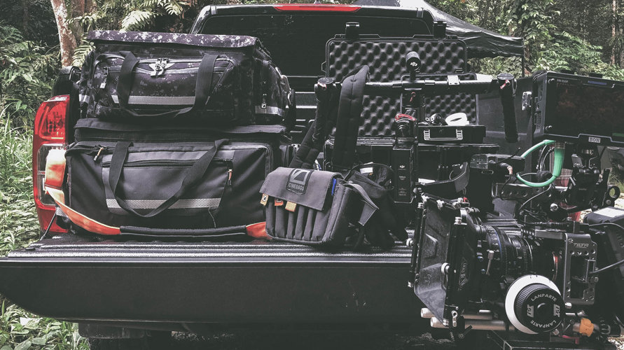 CineBags CB01 Production Bag, CineBags CB11 Production bag Tactical Camo, CineBags CB03 AC Pouch