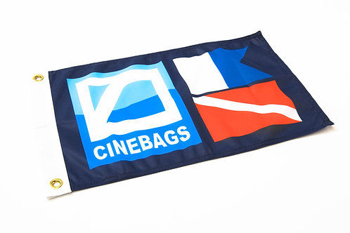 CineBags expedition flag