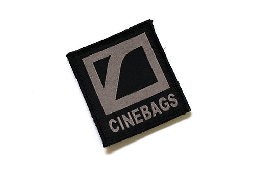 CineBags logo patch - charcoal