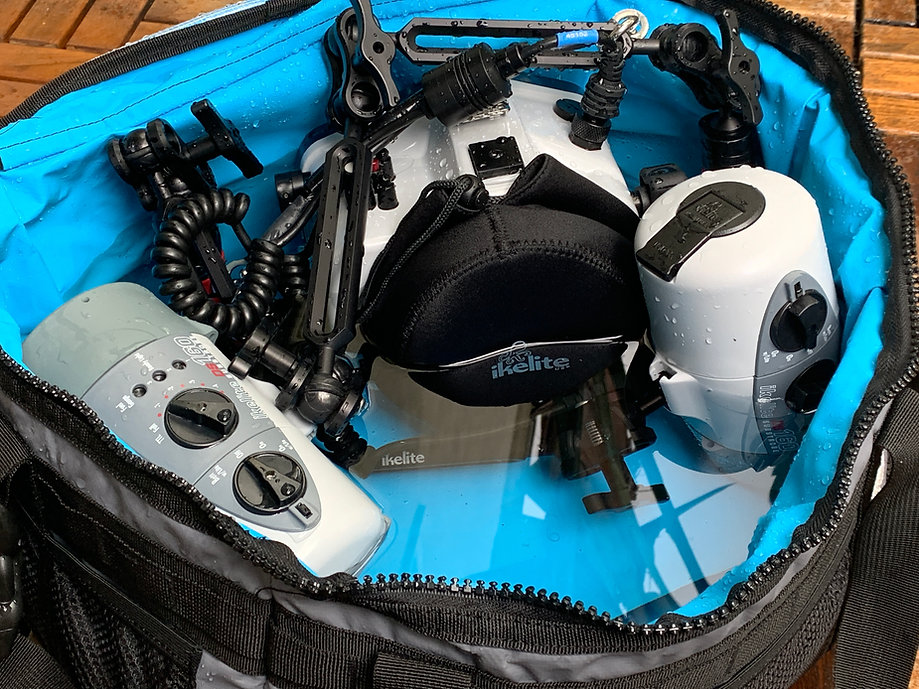 bag for underwater housing CineBags