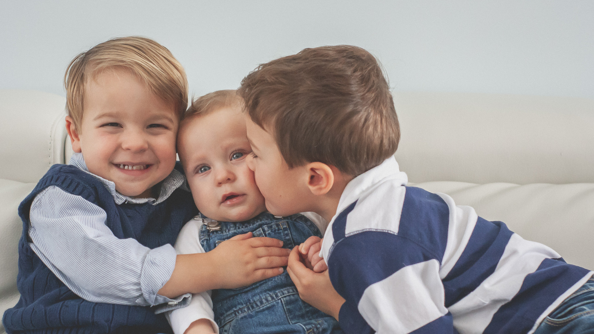 Sibling Portrait Session - In Home