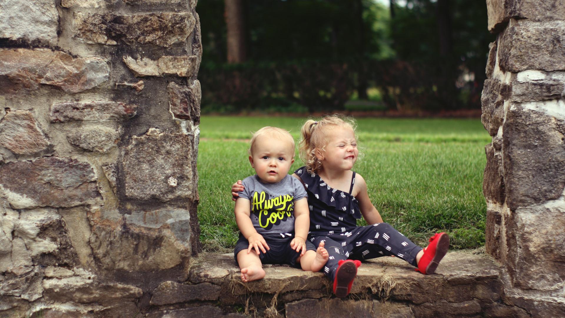Sibling Portrait Session - Lock Ridge Park, Alburtis, PA
