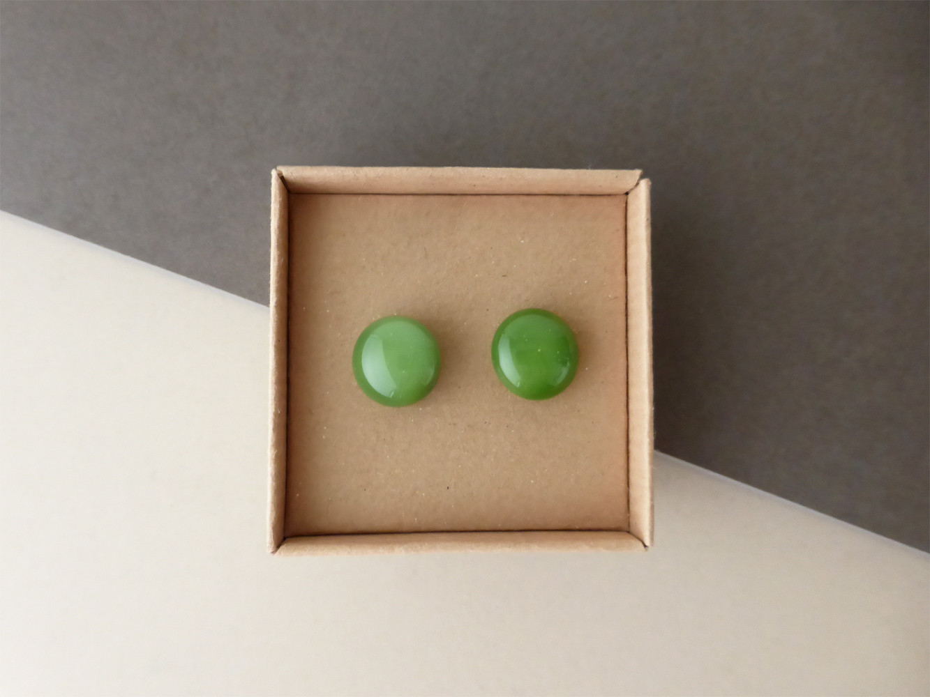 Forest Green Studs