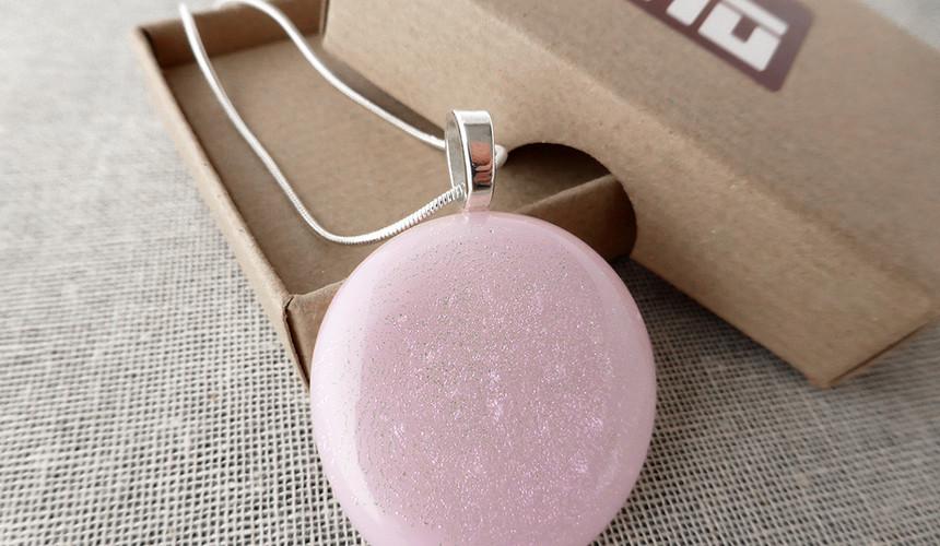 Pink Sparkling Roundel