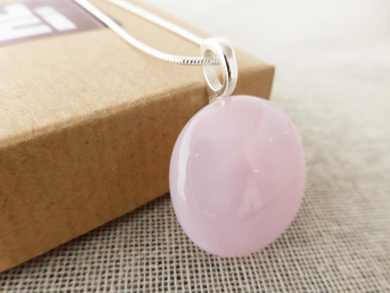 Pink Dot Pendant