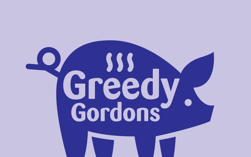 Greedy Gordonw logo