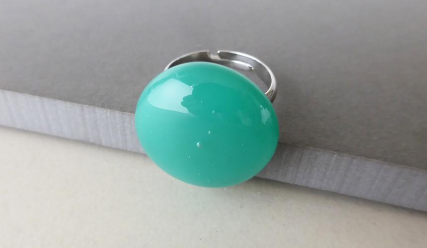 Teal Green Ring