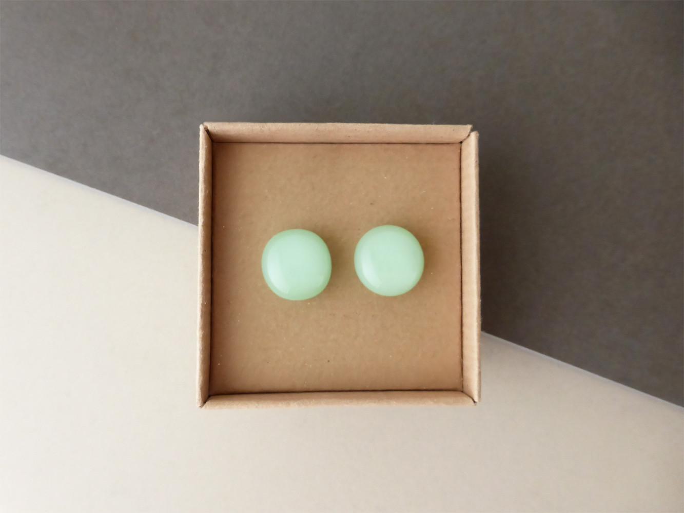Mint Green Studs