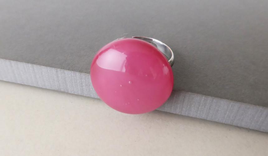 Deep Pink Ring