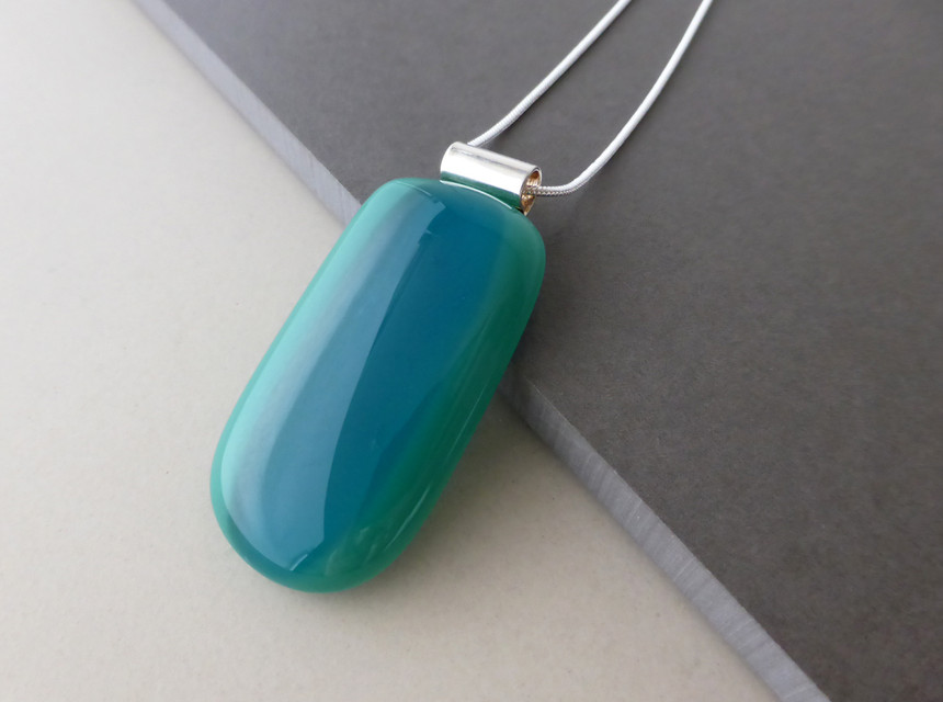 Teal/Blue Pendant