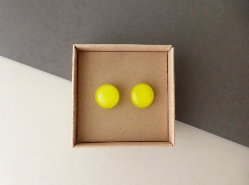 Bright Yellow Studs