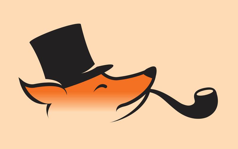 The Snooty Fox logo