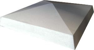 Pillar cap in portland grey