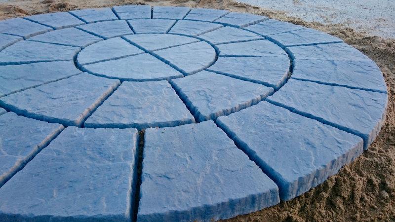 1800mm Rotunda in slate colour