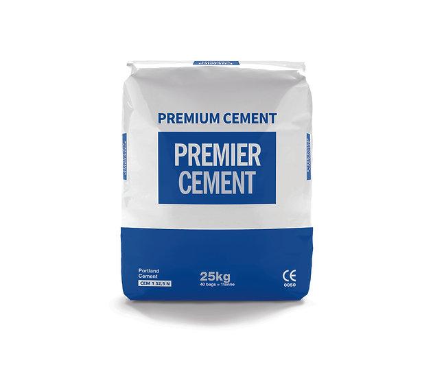 Premier premium Cement, 25kg bag