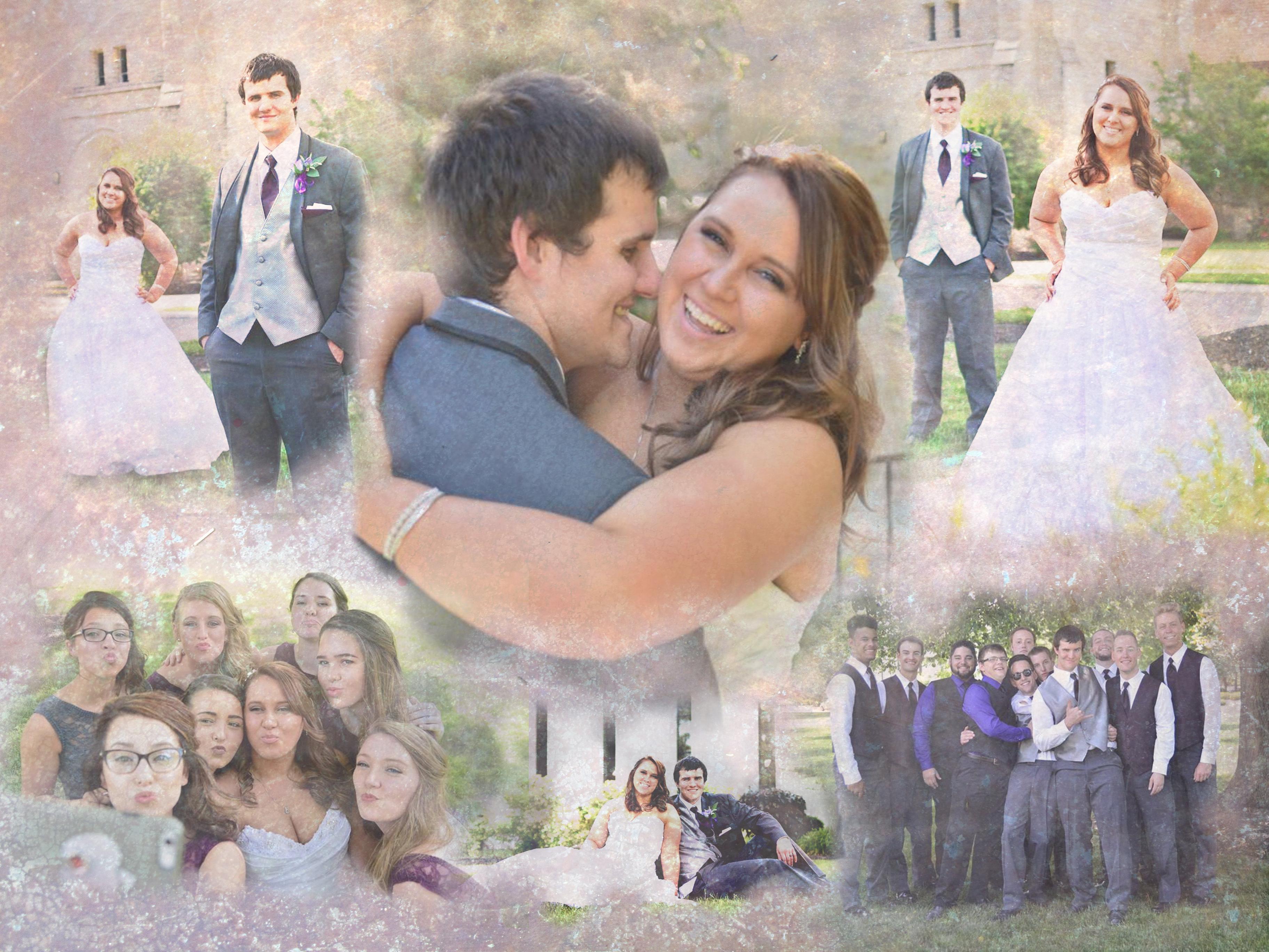 Chris & Alyssa Wedding PIc Montage-2