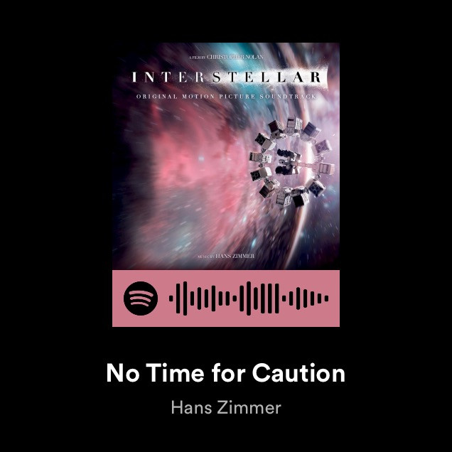 No time for caution