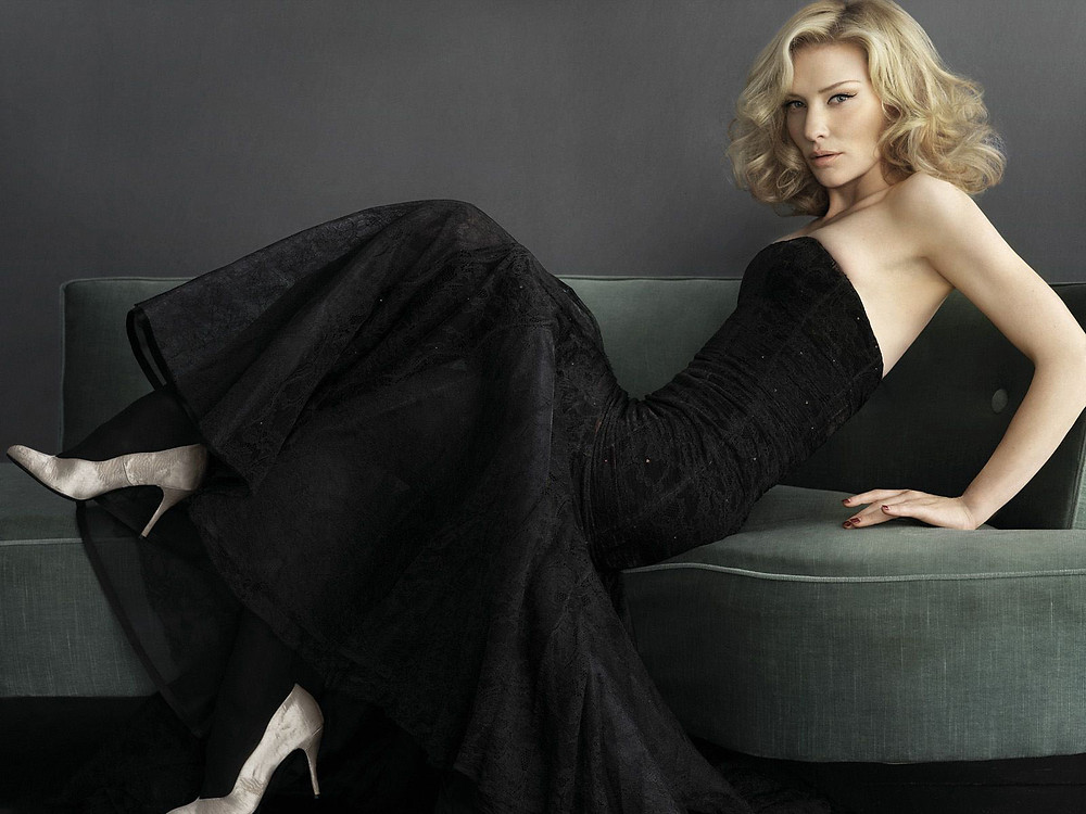 Cate Blanchett Black Dress