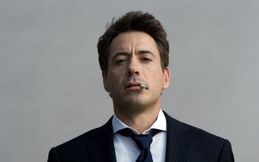 Robert Downey Jr Smoking