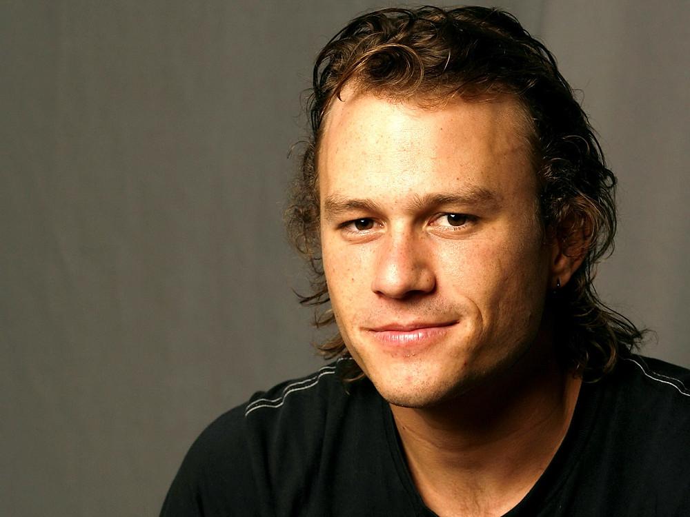 Heath Ledger looking