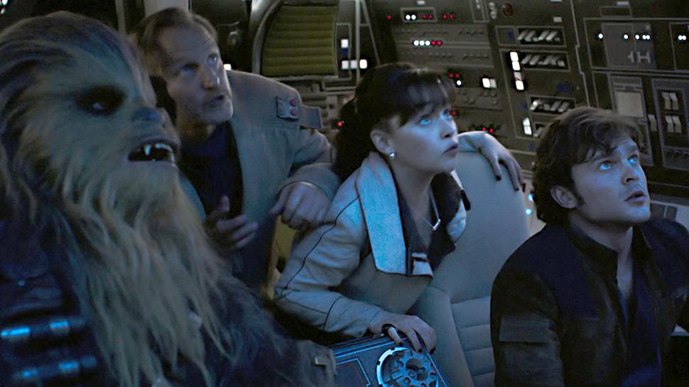 Chewie & Solo Falcon