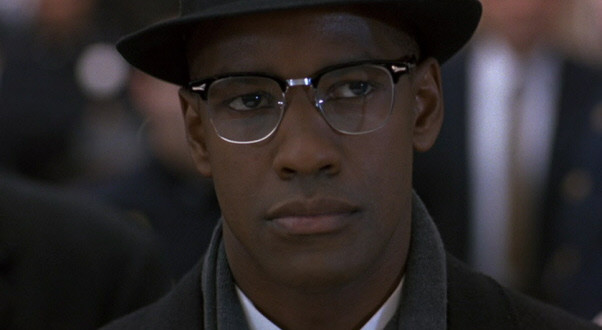 Denzel Washington is Malcolm X