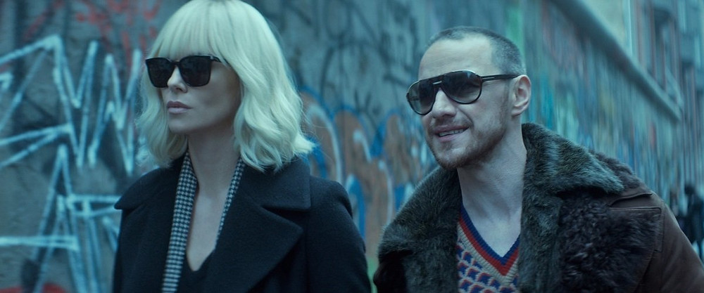 McAvoy Theron Atomic Blonde
