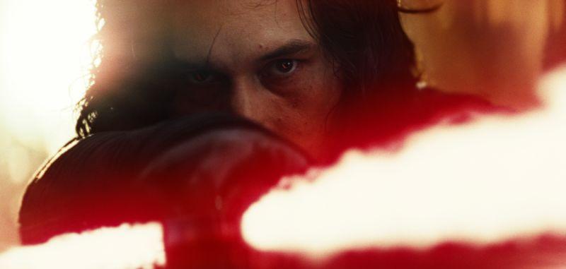 Kylo Ren Lightsaber Closeup