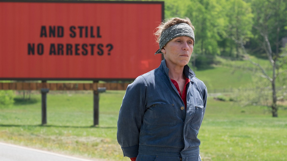Frances McDormand Three Billboards