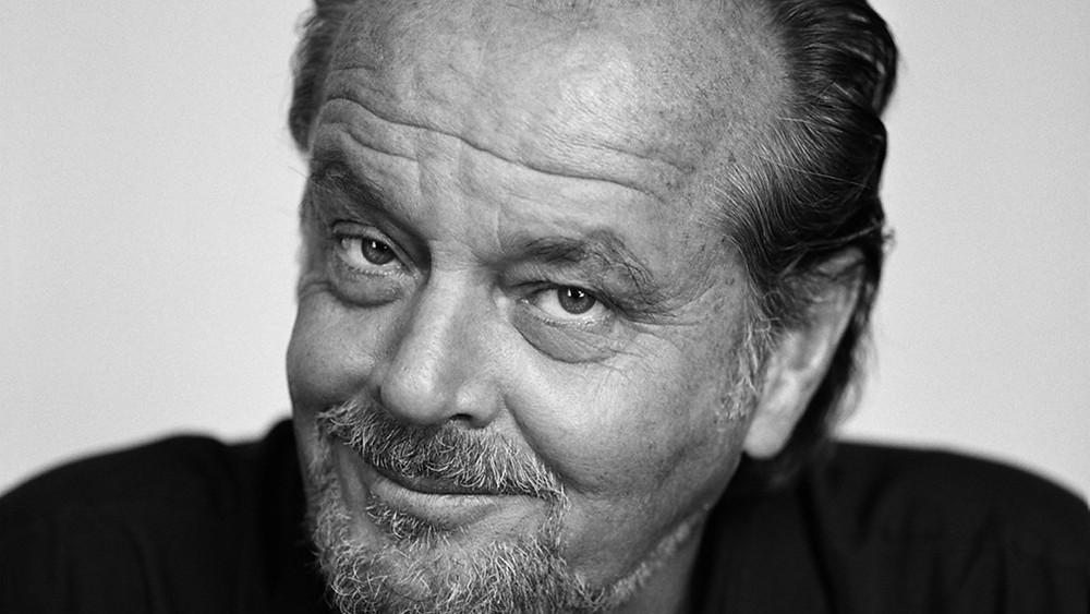 Jack Nicholson smirking