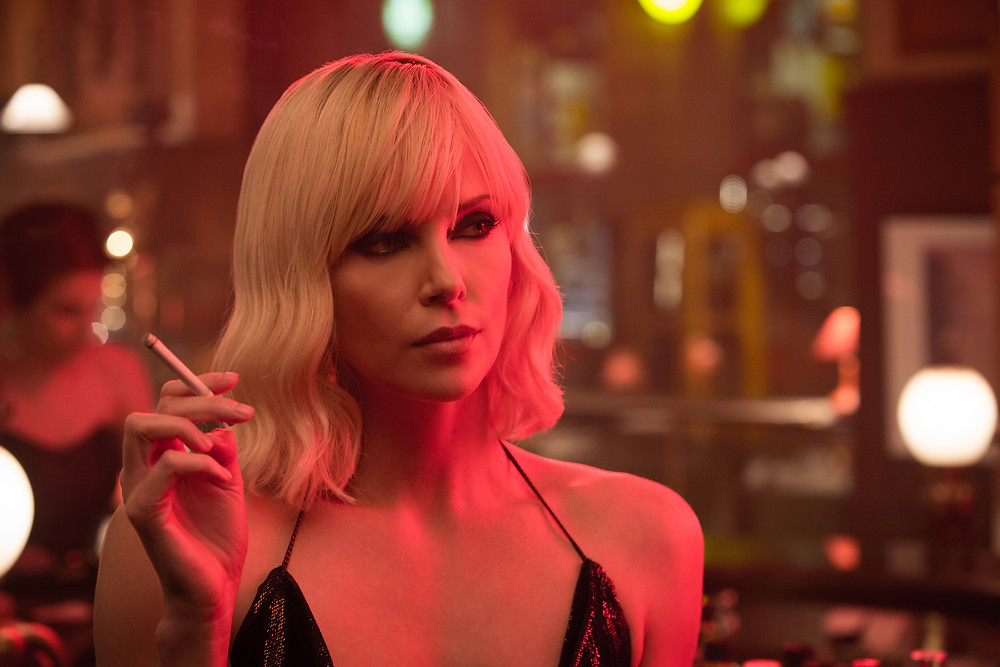 Theron Atomic Blonde Cigarette