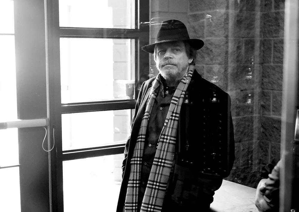 Mark Hamill Black and white