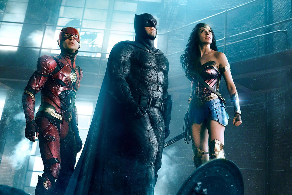 Batman Flash Wonder Woman