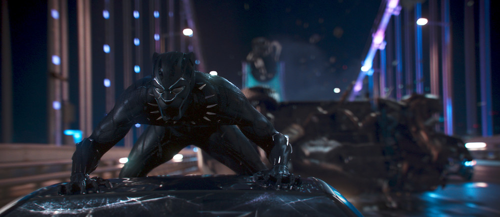 Black Panther on Car