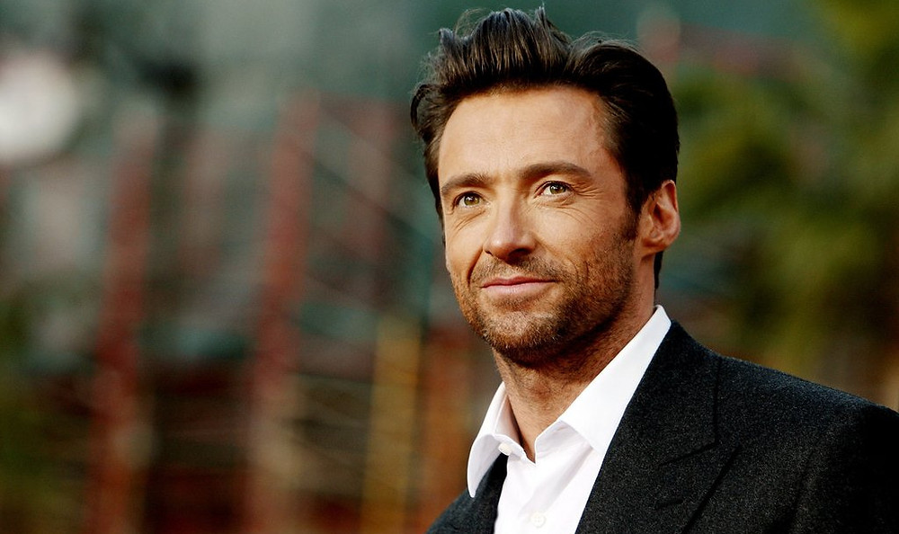 Hugh Jackman Looking