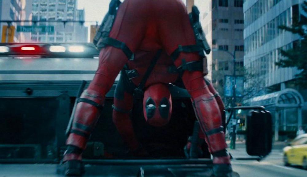 Deadpool Looking Back