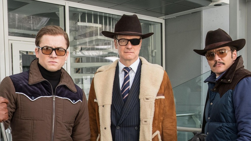Eggsy, Harry and Whiskey