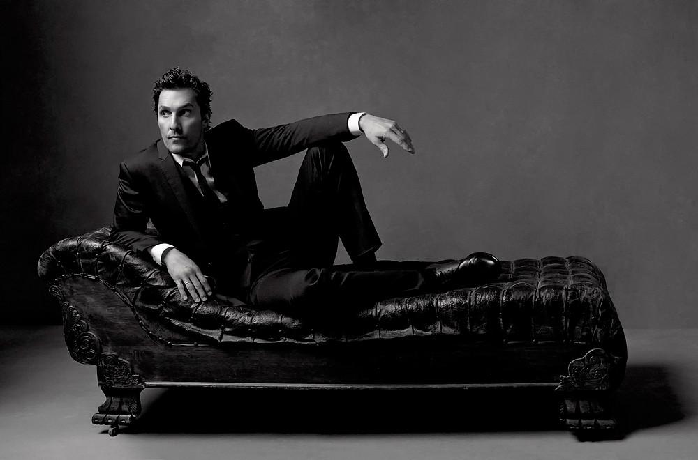 Matthew McConaughey lying down