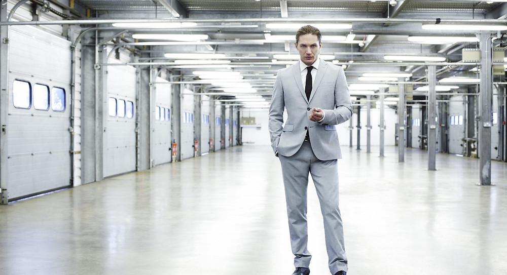 Tom Hardy standing