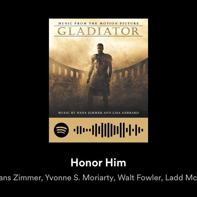 Honor Him