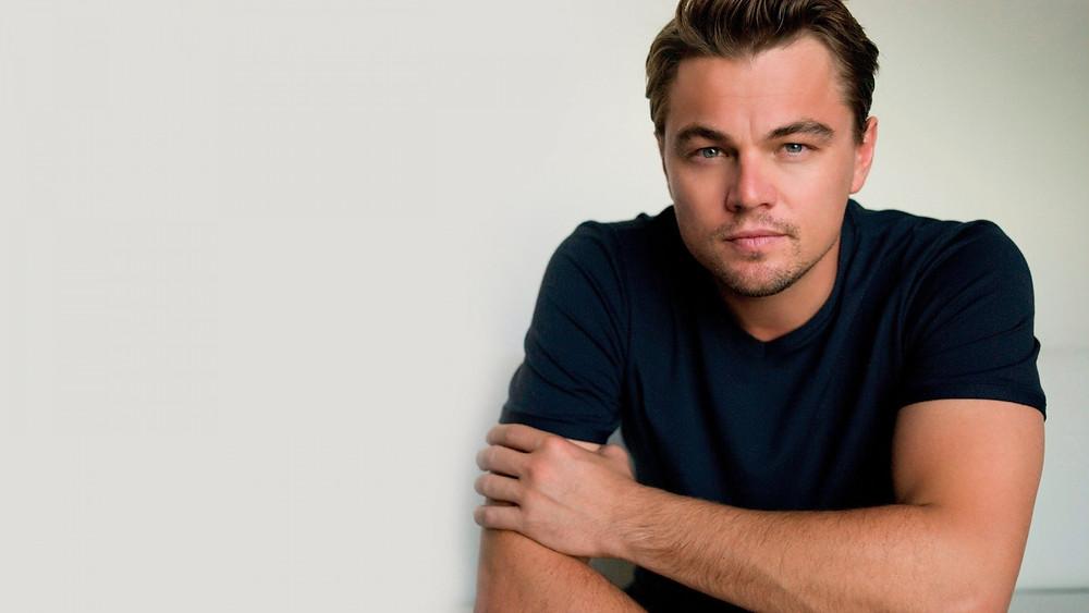 Leonardo DiCaprio looking