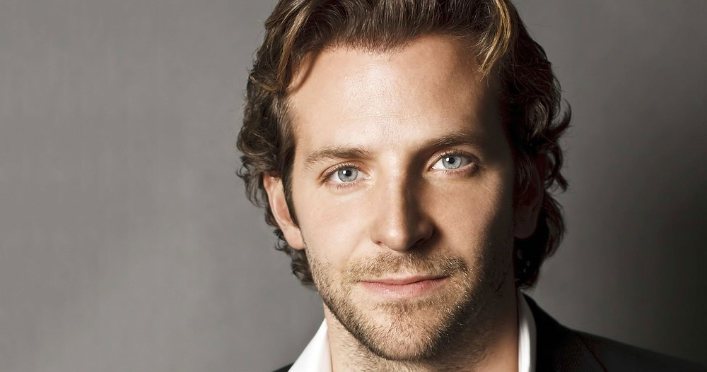 Bradley Cooper looking