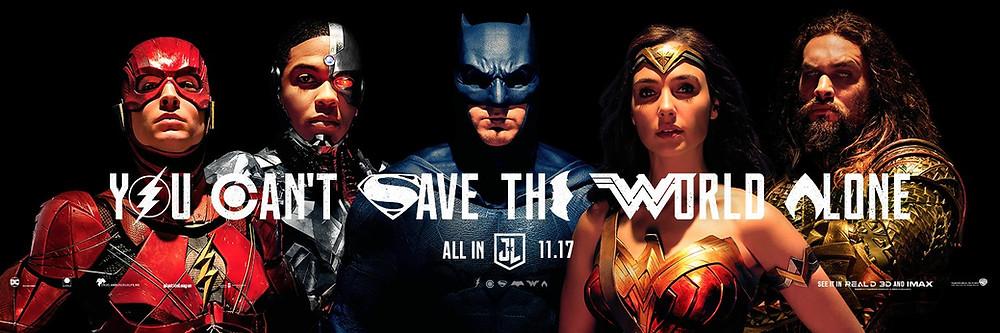 Justice League SDCC Banner