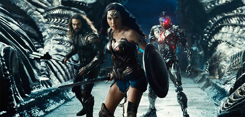 Aquaman Cyborg Wonder Woman