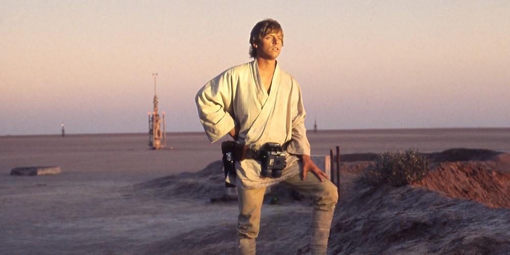 Luke Skywalker Sunset Overlook