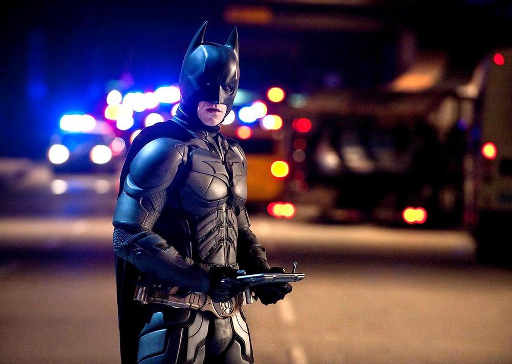 Batman looking