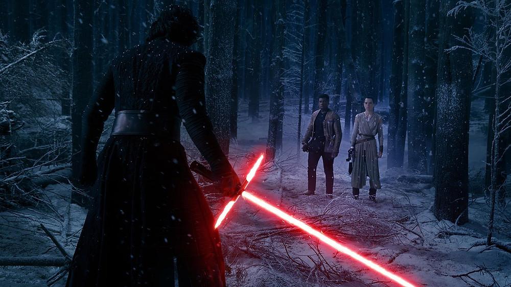 Kylo v Rey & Finn