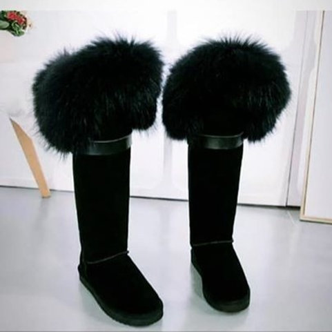 """""""Tall Fur Boots"""""""
