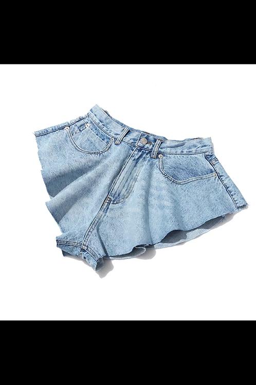 """""""Fly"""" Denim shorts"""