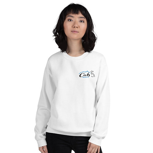 White CATS Sweatshirt - Adult